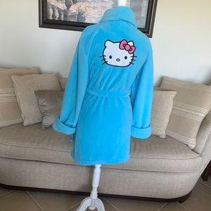 Hello Kitty Blue Robe